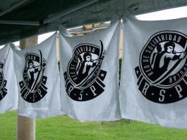 Pancartas de la RSP