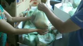 Despensa  Solidaria de Alimentos:  200 bolsas  de emergencia