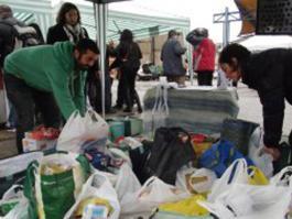 Jorge Crespo y voluntarios de RSP